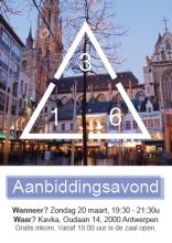 Aanbiddingsavond 3-16 Antwerpen
